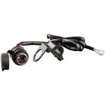 "Auxiliary Power Socket 12v Power ""Cigar"" Lighter Socket. Handlebar Mount Bracket & Harness."